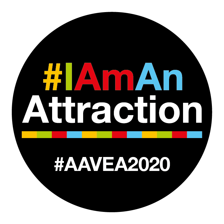 Attractions 2020 Button badge